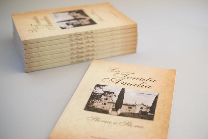 Book design Tenuta Amalia